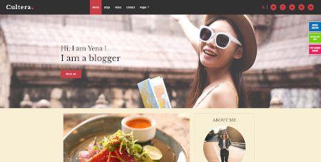 LMS Cultera website design