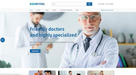 Healthcare and medical web design