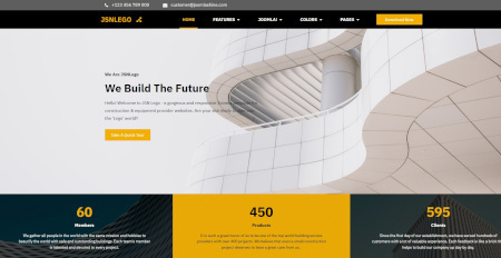 LMS Buildup Lego Construction Website Design
