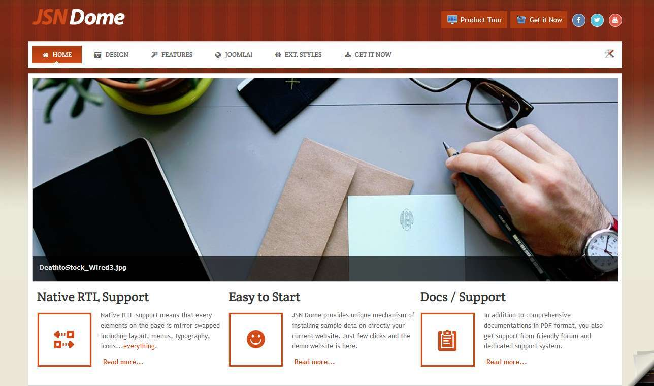 LMS Dome Web Design Template