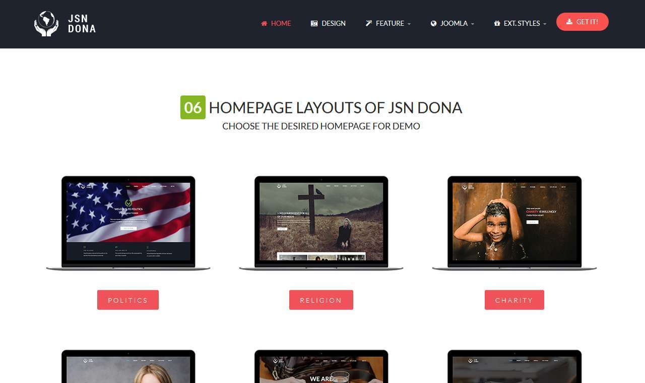 LMS Dona Web Design Template