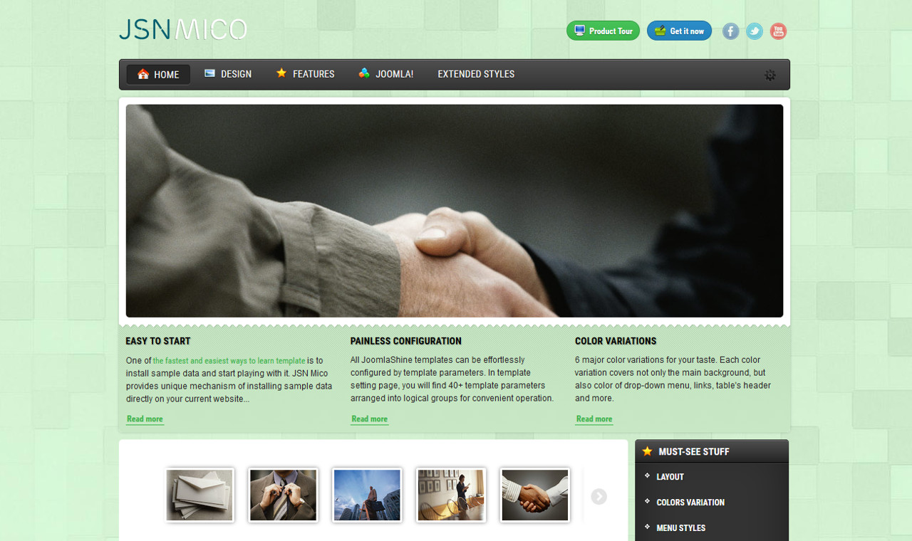 LMS Mico Web Design Template