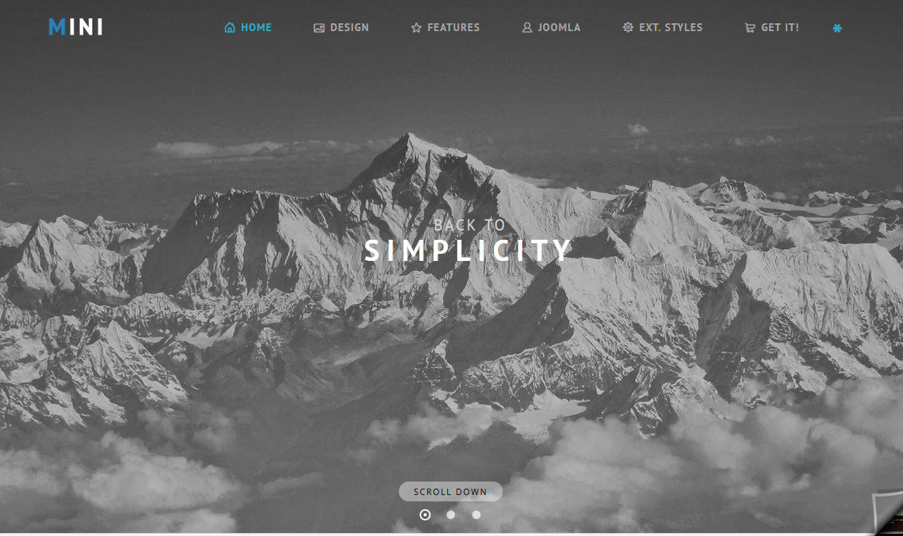 LMS Mini Web Design Template