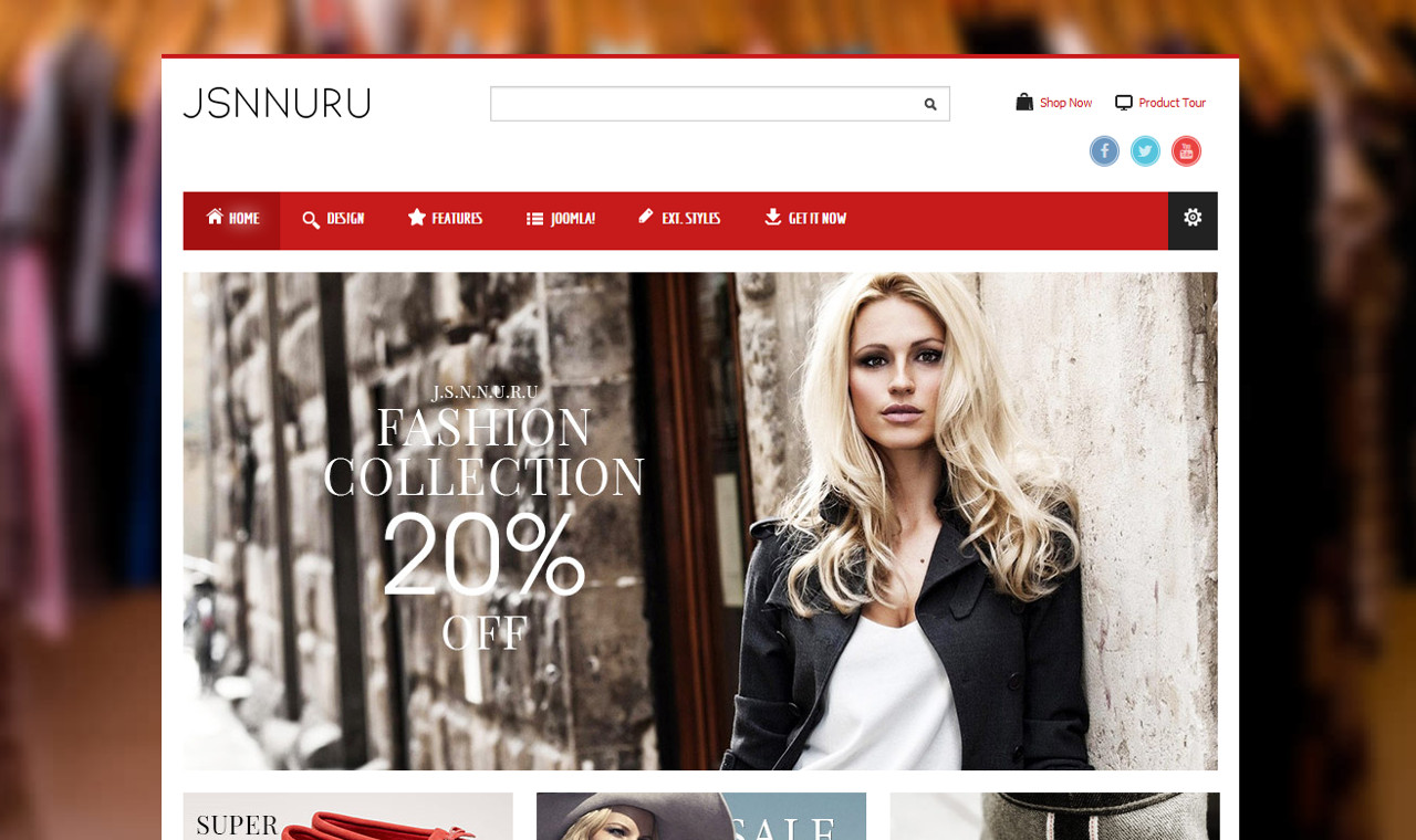 LMS Nuru Web Design Template