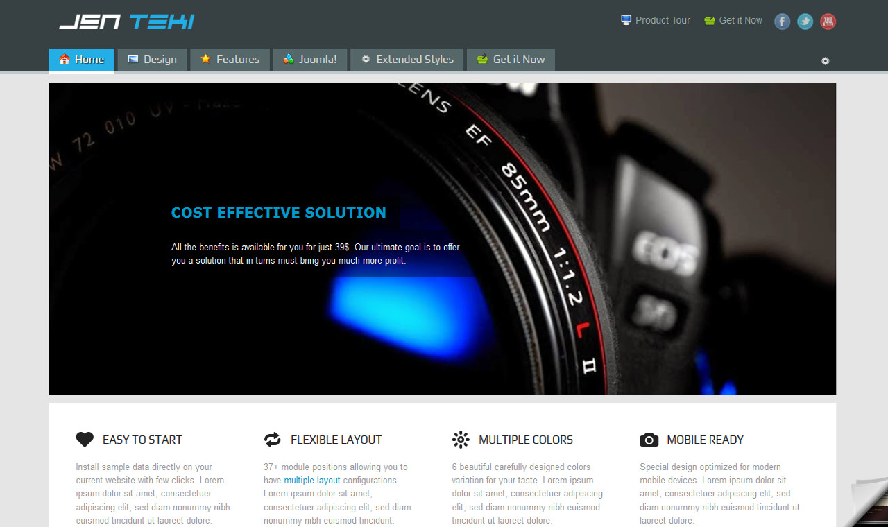 LMS Teki Web Design Template