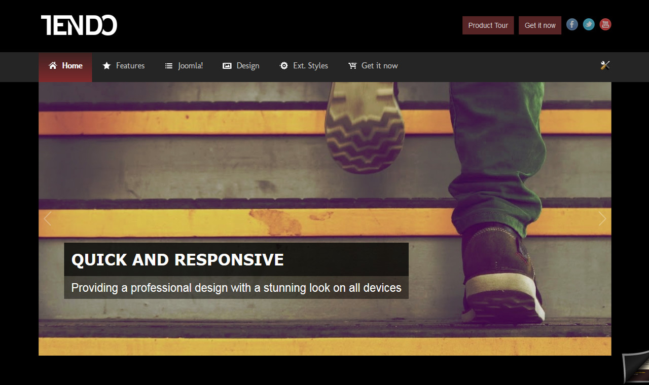 LMS Tendo Web Design Template