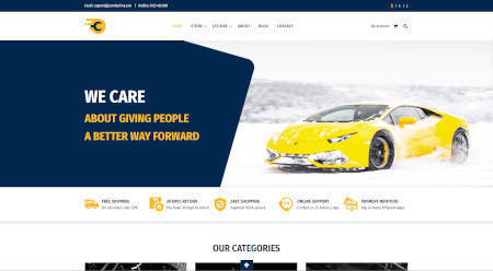 Best website design for the auto service industry