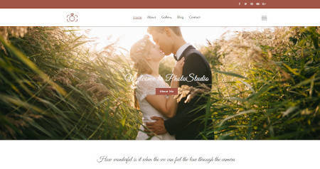 Best website design for photo studio and photography