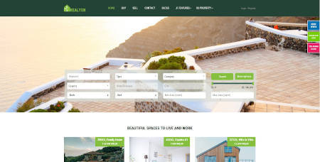 Best website design for the realtor business