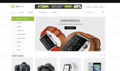 LMS Shine Gadget Store E-Commerce Web Design